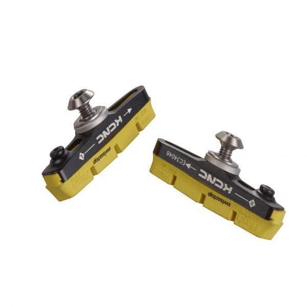 Patines de freno KCNC CB1&C7 con zapatas SwissStop GHP2 FlashPro (2 uds)